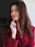 Cheryl with pen