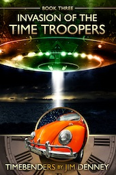 Invasion of Time Troopers Cover